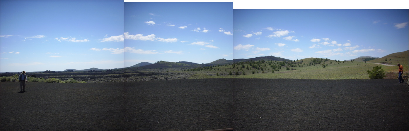 Craters of the Moon panorama