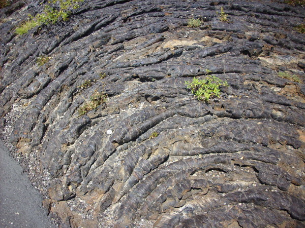 Ropy pahoehoe