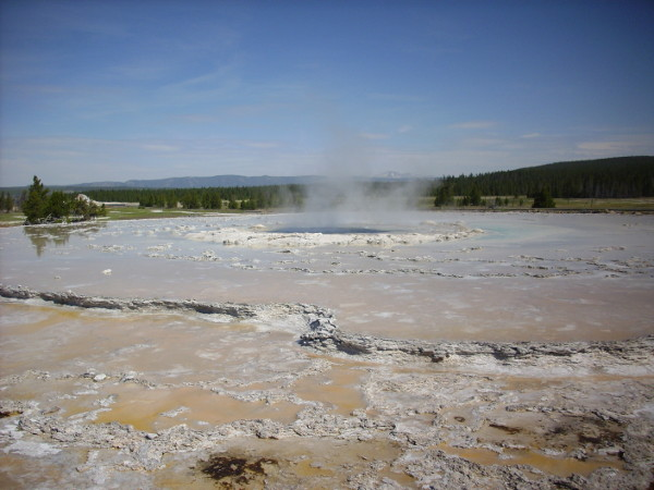 Quiescent Grand Fountain Geyser
