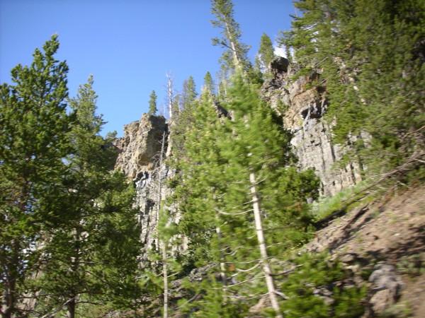 Obsidian Cliffs