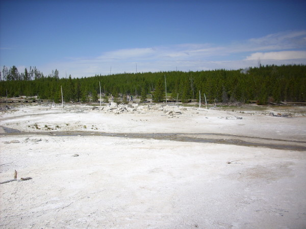 Porkchop Geyser from east