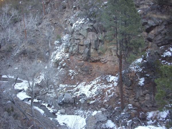 Cerros del Rio in Frijoles Canyon