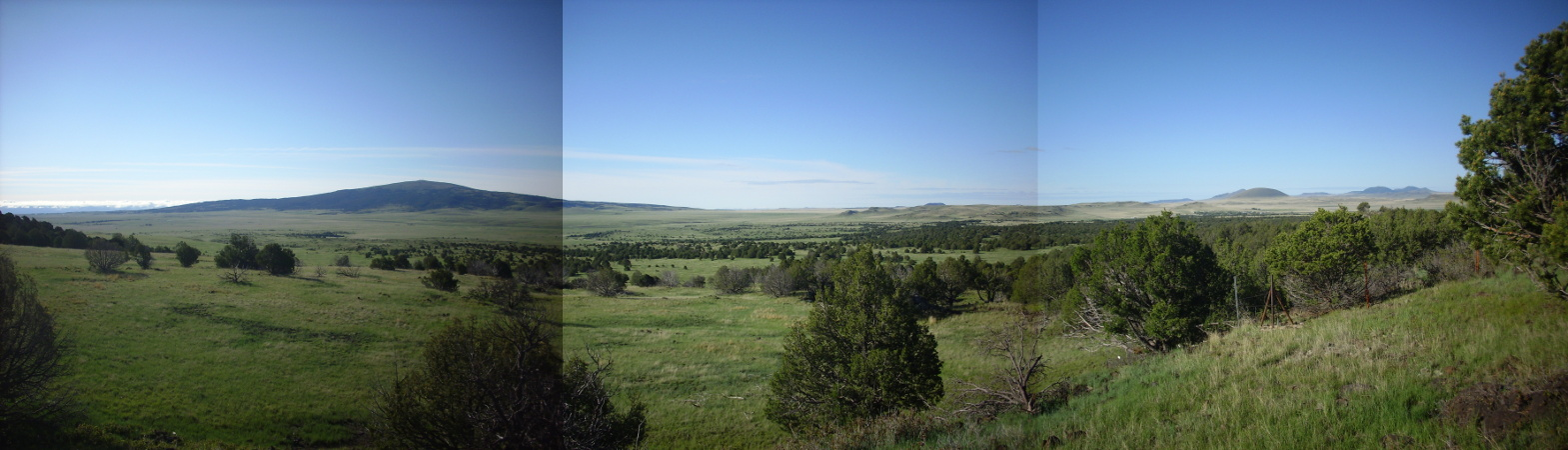 South of Mount Capulin