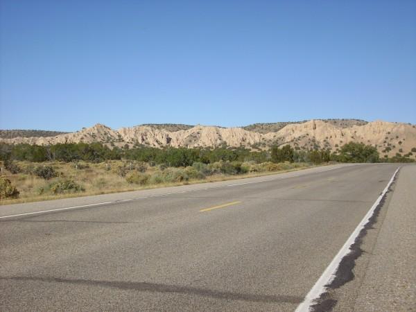 Ojo Caliente Sandstone ridge
