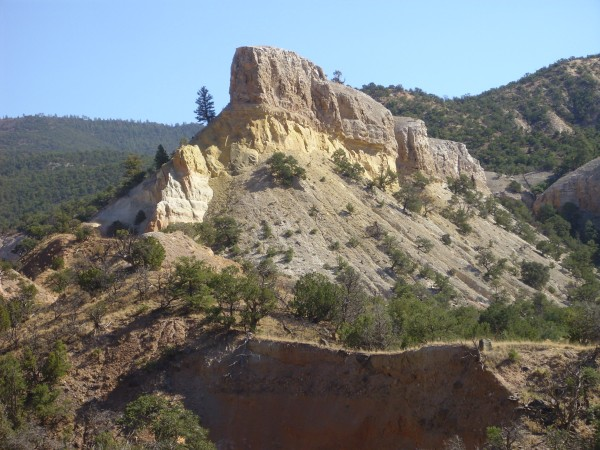 Outcropping in Jurrasic rock