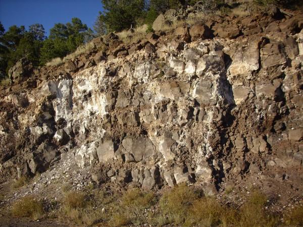 Clara Peak basalt flows