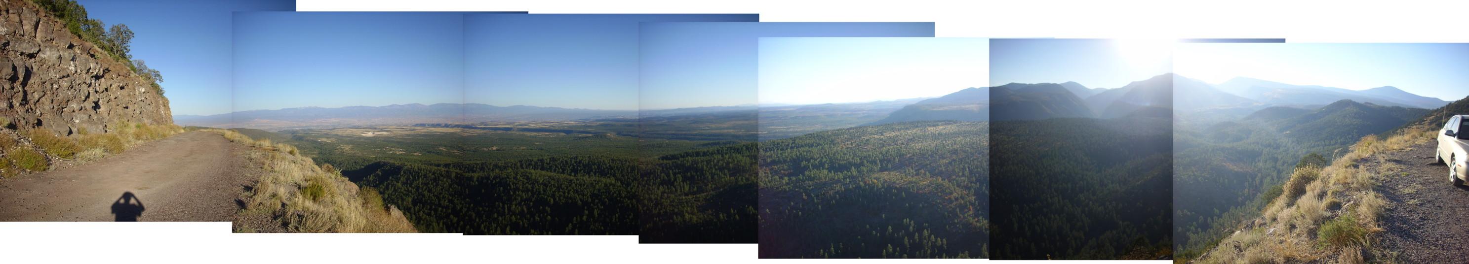 Clara Peak panorama