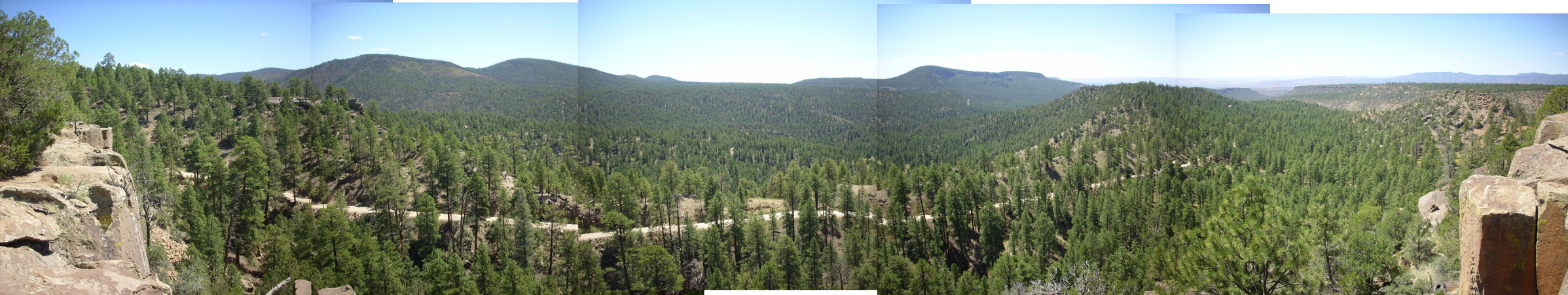 Panorama of southwestern Jemez
