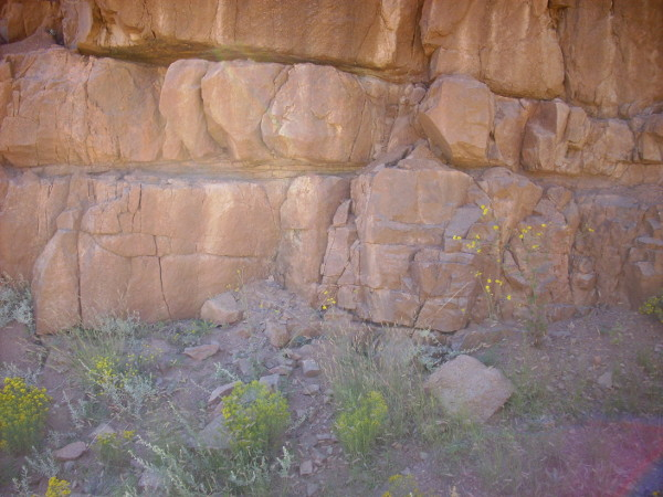 Joaquin Granite outcrop