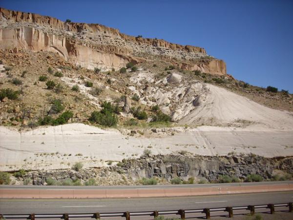 Cerros del Rio Basalt and Bandelier Tuff