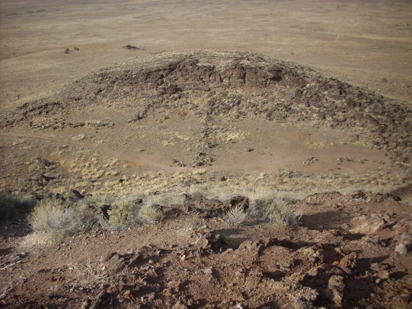 "North ""crater"" of Vulcan"