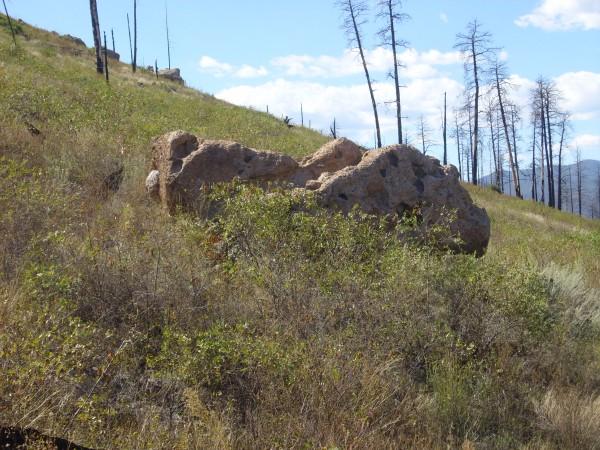 Tuff           boulder