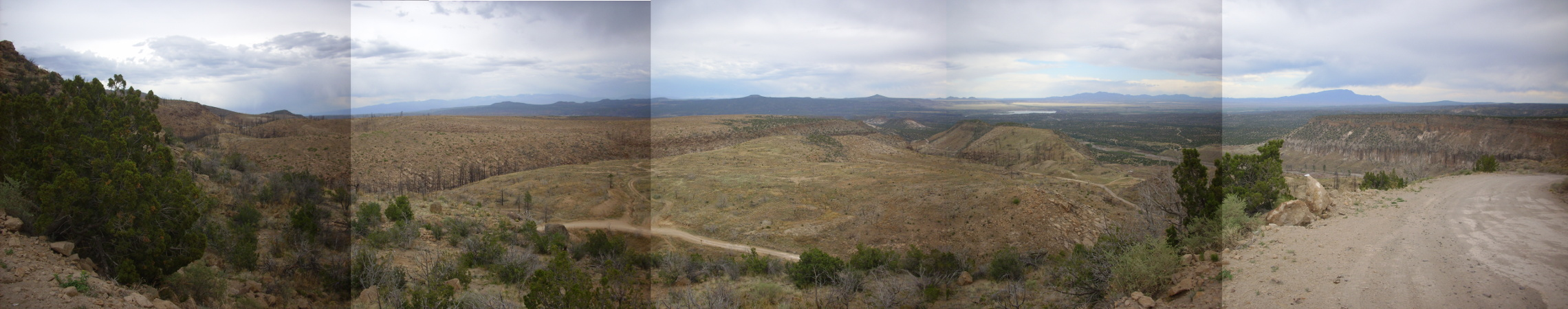 Cerros del Rio from Pajarito Escarpment