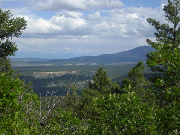 Bandelier Tuff below Polvadera Peak