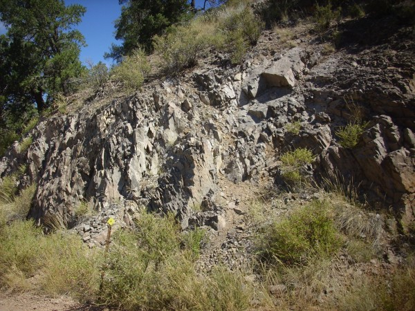Borrega Mesa basalt outcrop