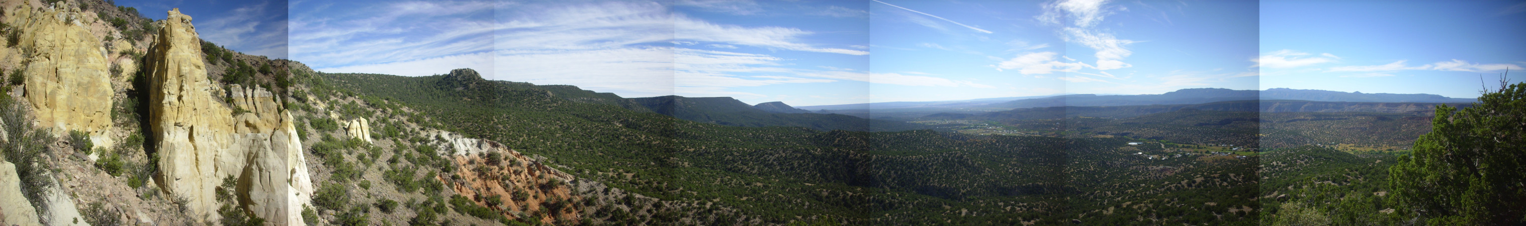 Panorama of Ponderosa area